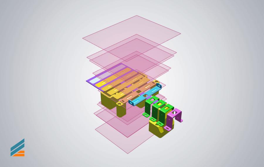NX CAD Stante progresive - Lectia 4 - Definire structura ansamblu