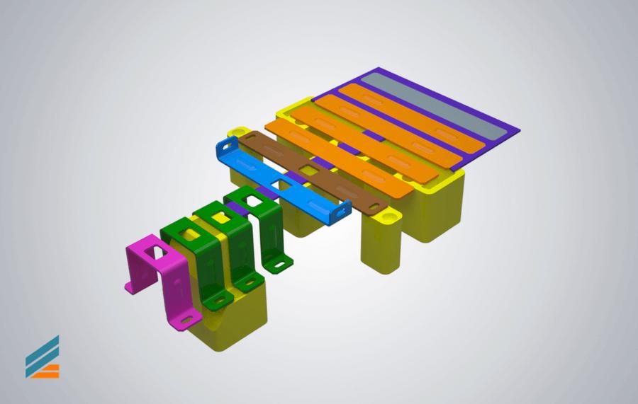 NX CAD Stante progresive - Lectia 5 - Modelare matrita taiere