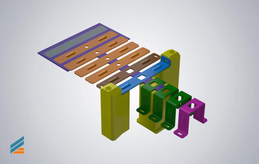 NX CAD Stante progresive - Lectia 7 - Modelare matrita indoire