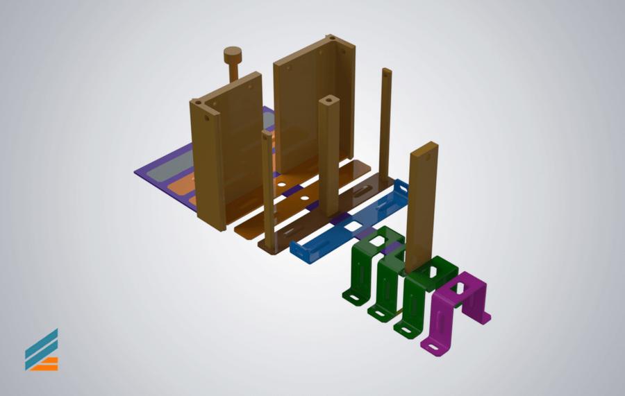 NX CAD Ștanțe progresive - Lectia 8 -Modelare poanson taiere