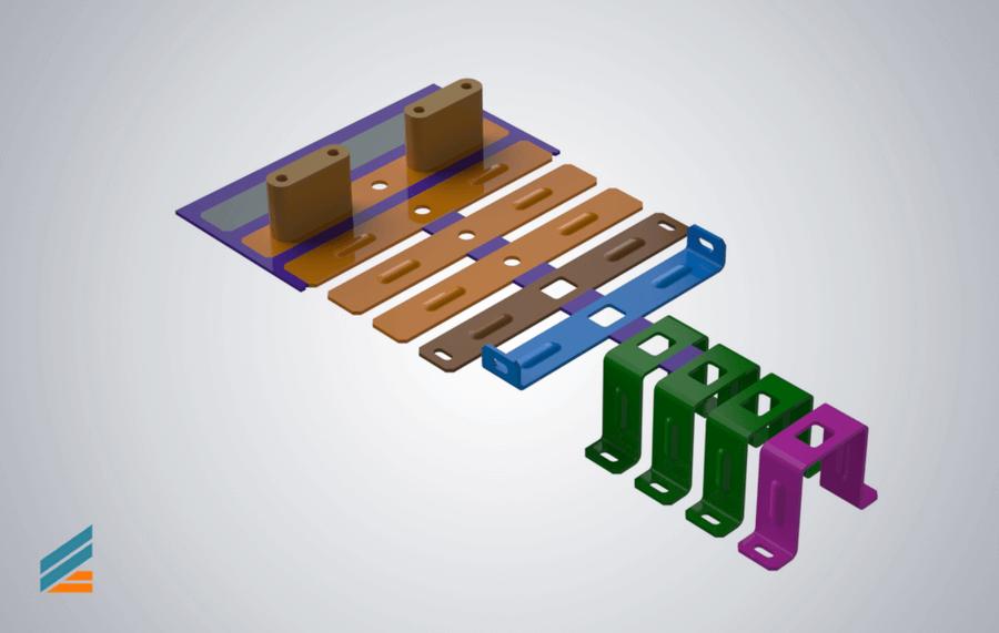 NX CAD Stante progresive - Lectia 9 -Modelare poanson deformare