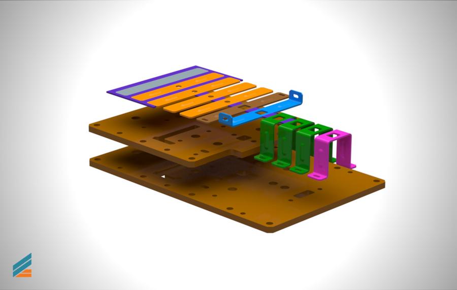 NX CAD Stante progresive - Lectia 14 - Modelarea plăcilor de presiune
