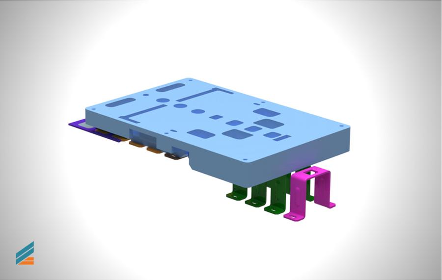 NX CAD Stante progresive - Lectia 15 - Modelarea plăcii de ghidare
