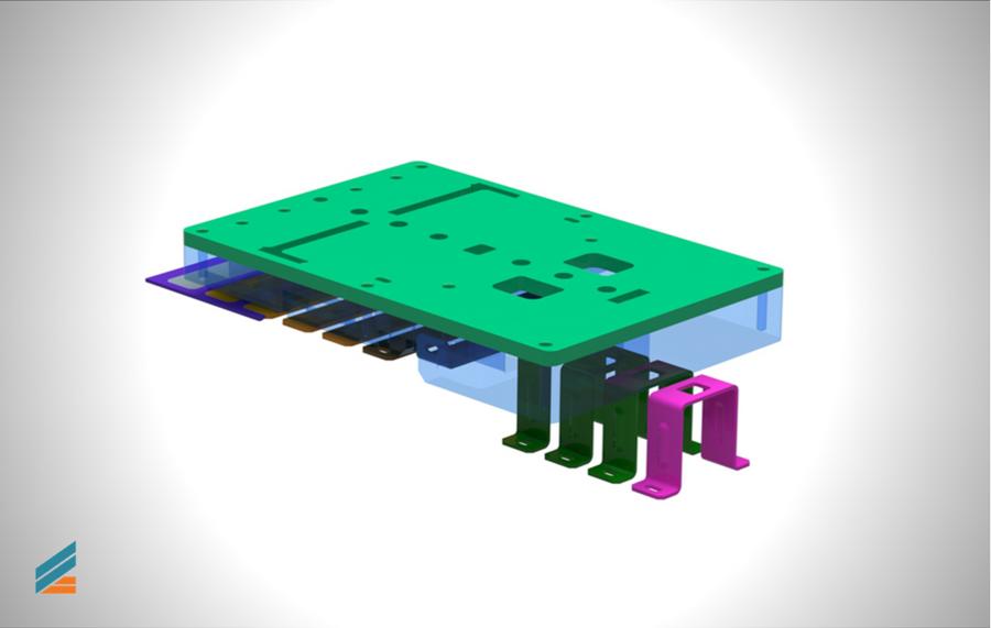 NX CAD Stante progresive - Lectia 16 - Modelarea plăcii intermediare port poansoane