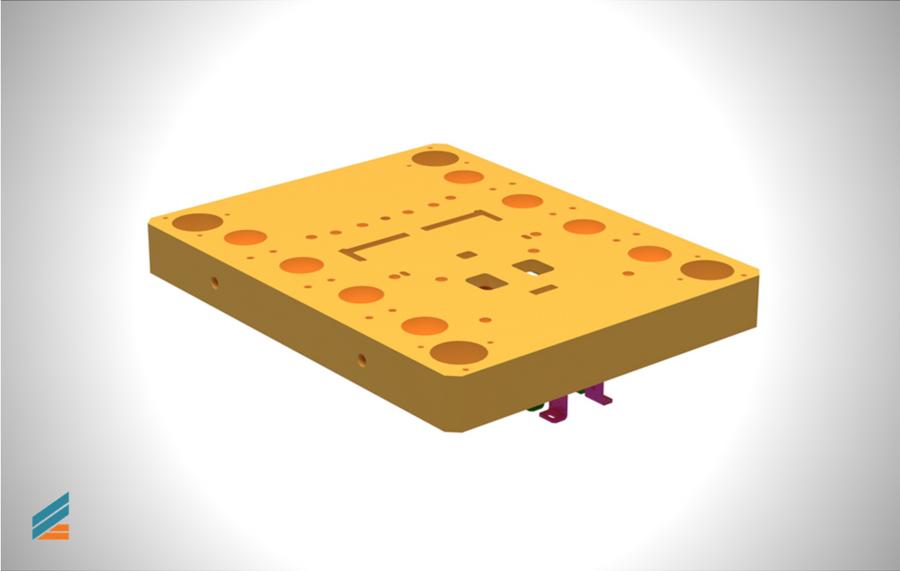 NX CAD Stante progresive - Lectia 17 - Modelarea plăcii de susținere