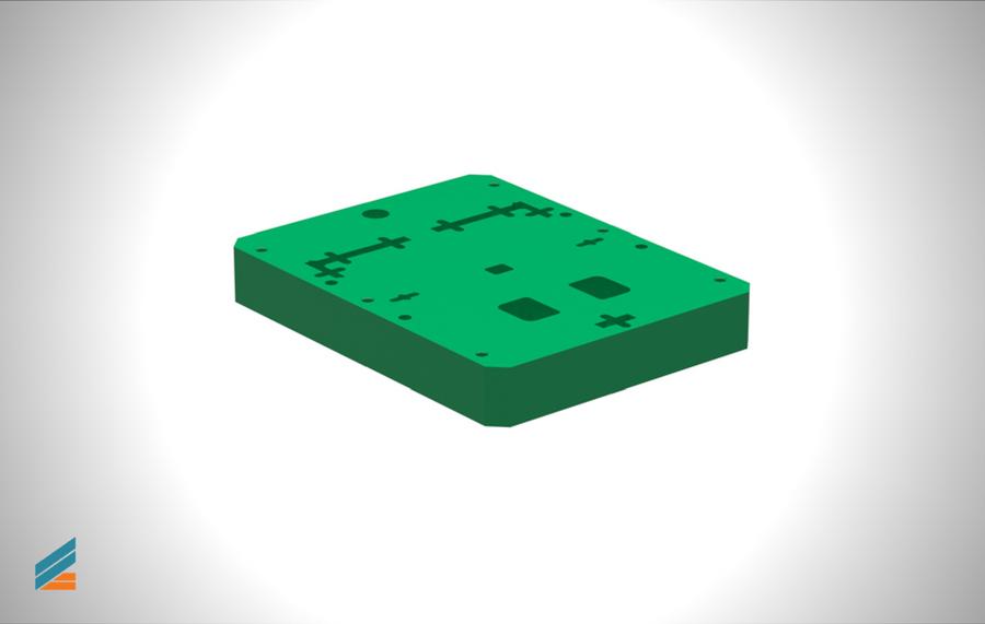 NX CAD Stante progresive - Lectia 18 - Modelarea plăcii port poanson