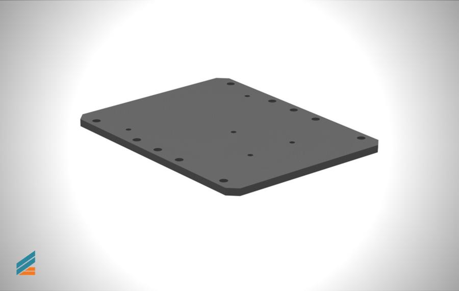 NX CAD Stante progresive - Lectia 19 - Modelarea plăcii superioare de presiune