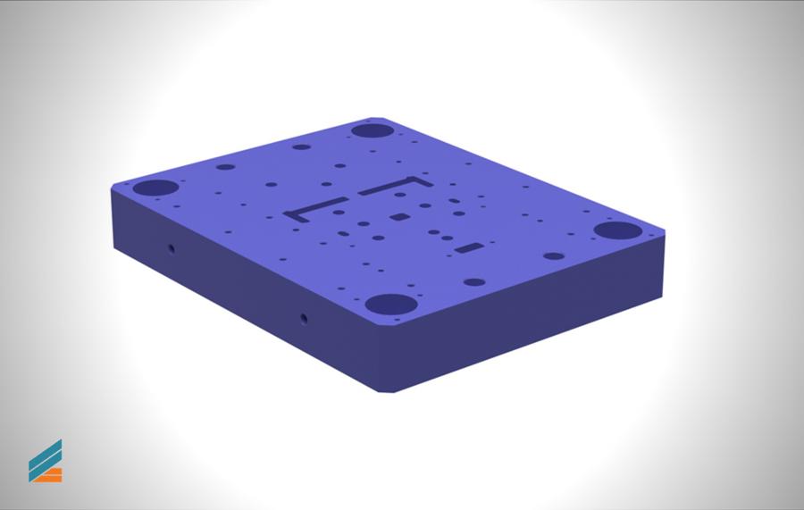 NX CAD Stante progresive - Lectia 20 - Modelarea plăcii de bază