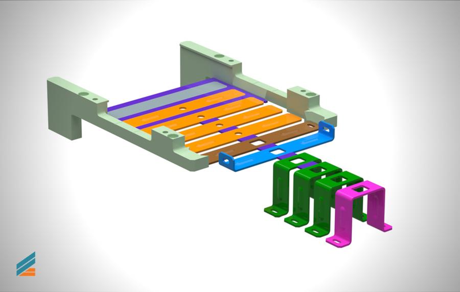 NX CAD Stante progresive - Lectia 22 - Modelarea riglelor de ghidare