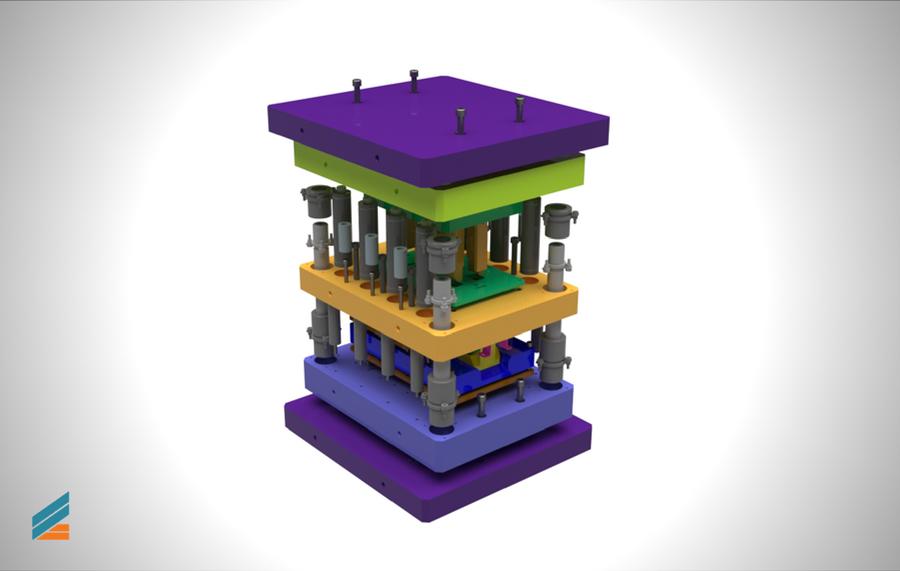 NX CAD Stante progresive - Lectia 32 - Verificare cu ansamblul explodat
